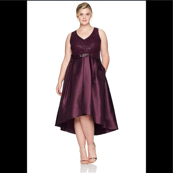 d87777e762cfa S.L.Fashions Women s Plus Sequined Lace fig color